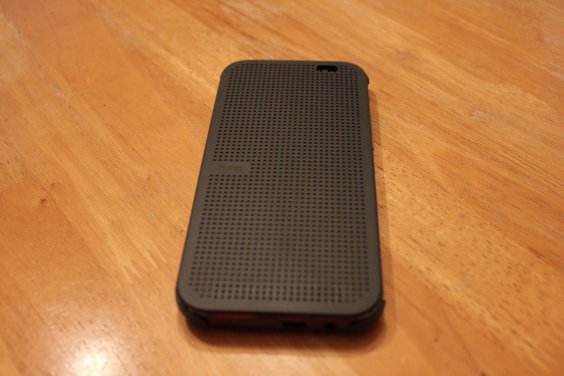 HTC Dot View Case Front Off