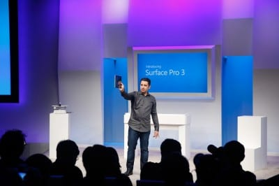 Panos Panay at Surface Pro 3 Event