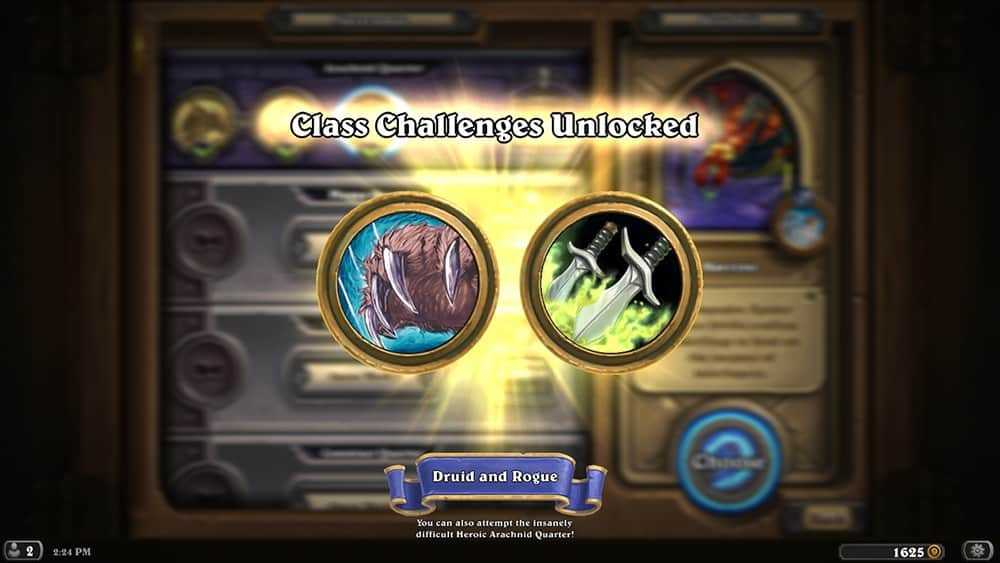 Class Challenges Unlocked Screenshot