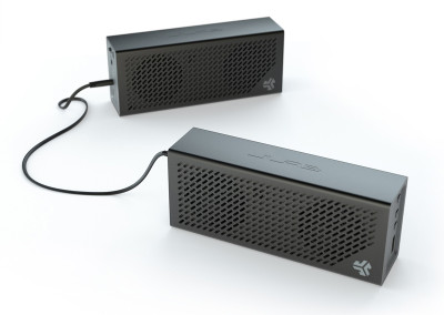 Daisy-chained-Crasher-2.0-speakers