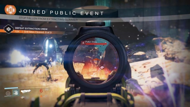 Public events are a challenge and encourage random involvement