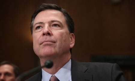 FBI Director James Comey Testifies Before Senate Appropriations Committee