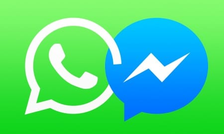 Facebook-Messenger-WhatsApp