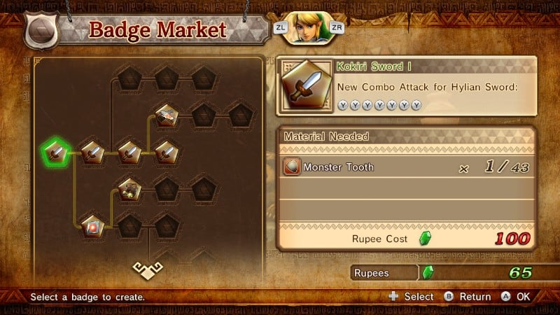 The game comes to a screeching hault between every battle as you fumble your way through the badge skill tree.
