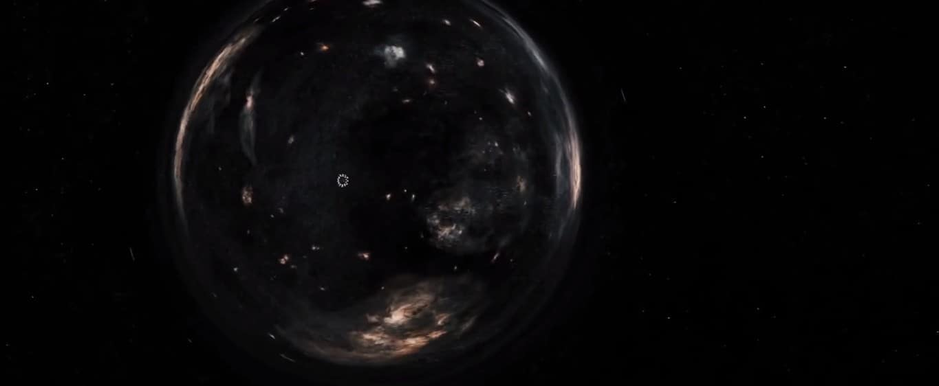 Every shot in space was varied and beautiful.