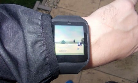 sony smart watch run