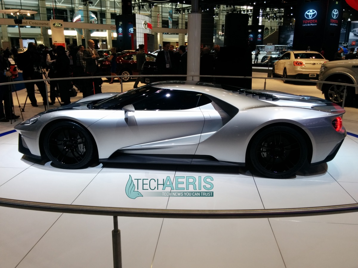 Chicago Auto Show 2015 Ford GT Concept
