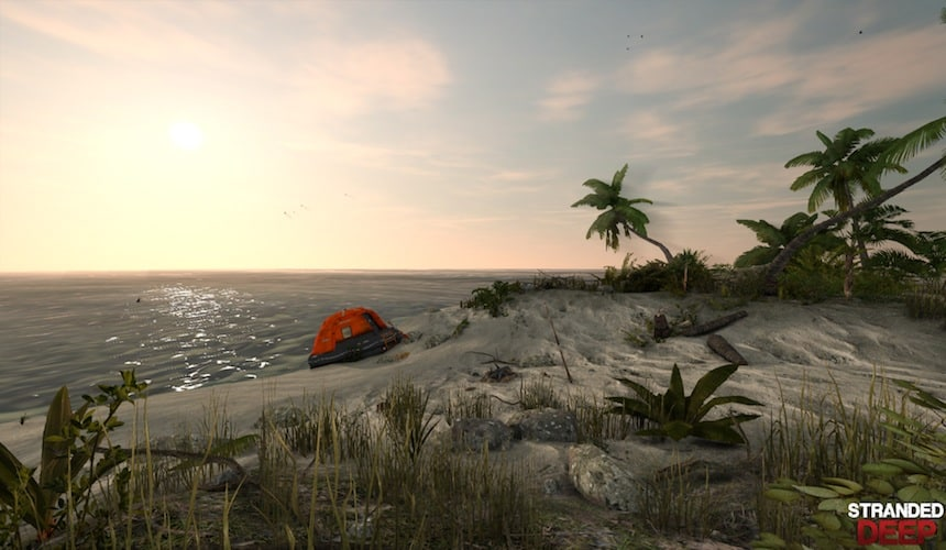 Stranded Deep is simply beautiful.