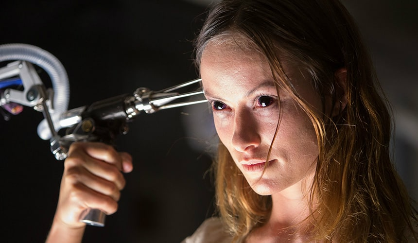 Olivia Wilde in The Lazarus Effect.