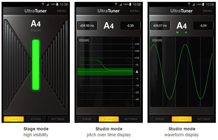 UltraTuner-for-Android-Modes