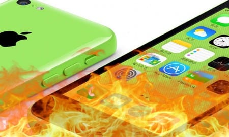 iPhone-5c-catches-fire