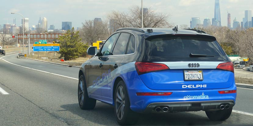 Delphi Self-Driving Car