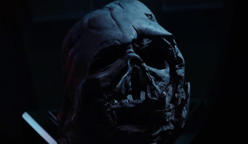 A faded version of the iconic Vader breathing playing while he is on screen is a nice touch.