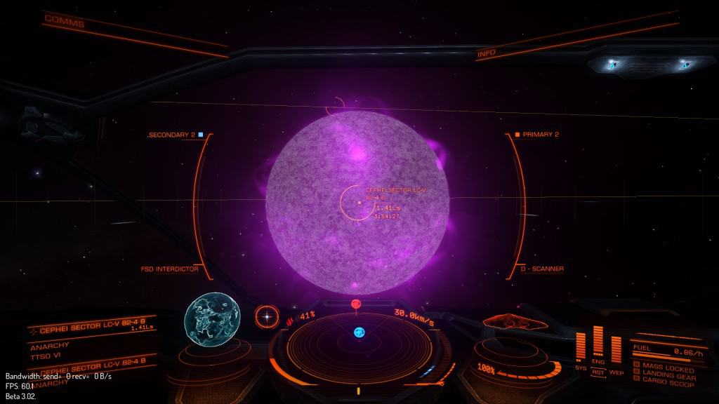 Elite Dangerous Star