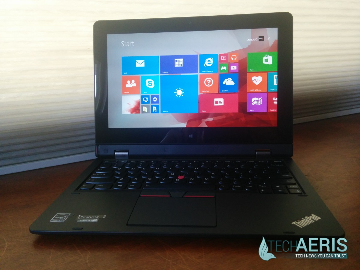 Lenovo ThinkPad Helix 2 Laptop Mode