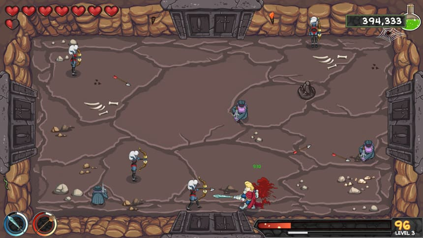 The-Weaponographist-Review-Dungeon