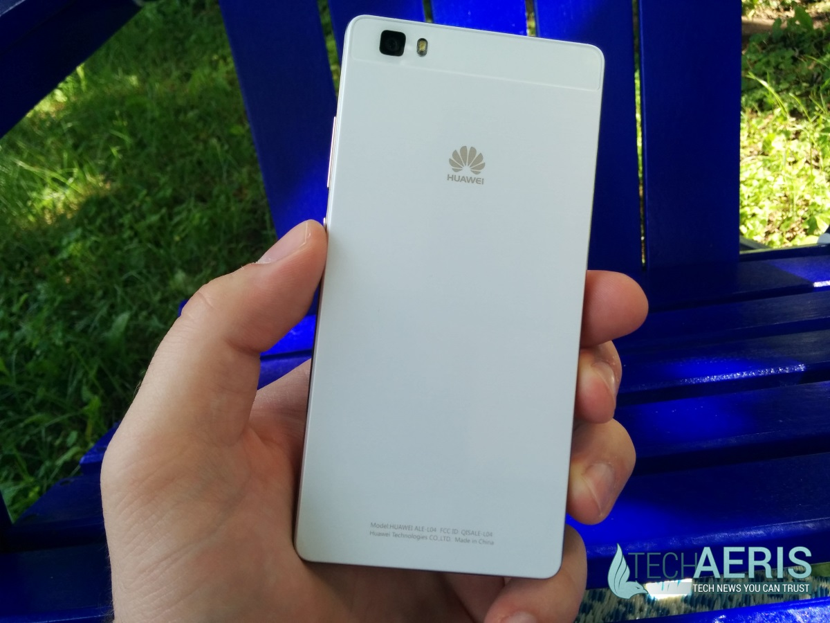 Huawei P8 Lite Review Back