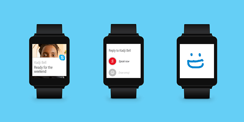 Skype-Android-Wear