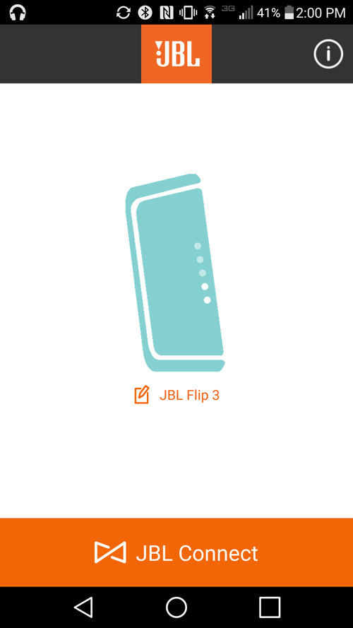 JBL Connect is a handy complimentary app for JBL's line of speakers.