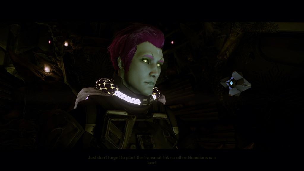 Guardians remain silent during storylines, only offering facial expressions.