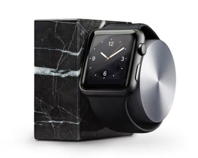 Native Union DOCK for Apple Watch Marble Edition (black)