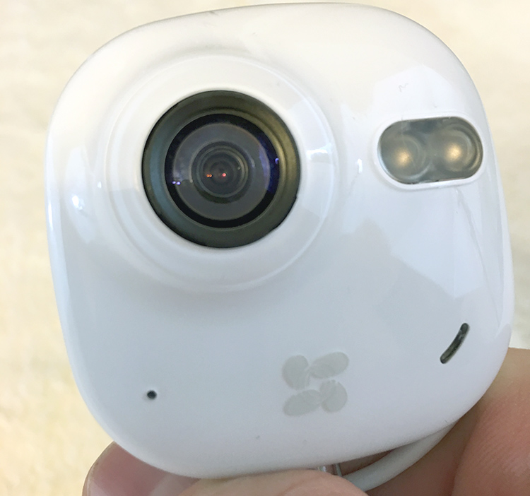 The front of the EZVIZ Mini camera
