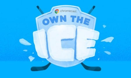 Chromecast-Own-the-Ice