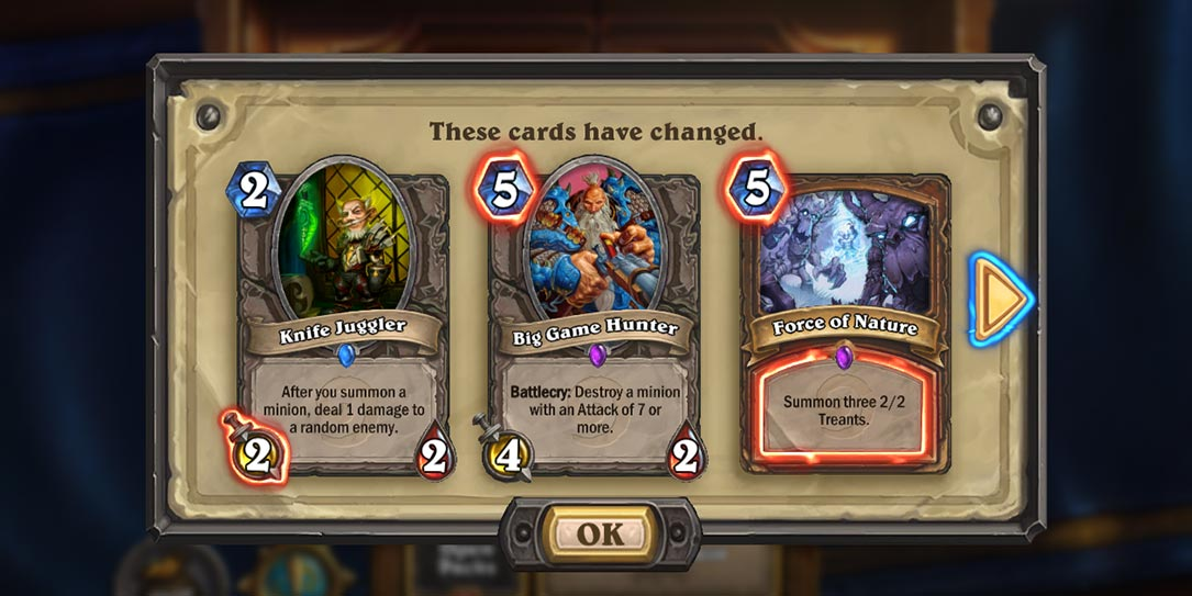 Hearthstone-patch-card-changes