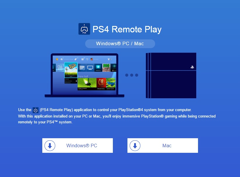 PS4 Update Remote Play