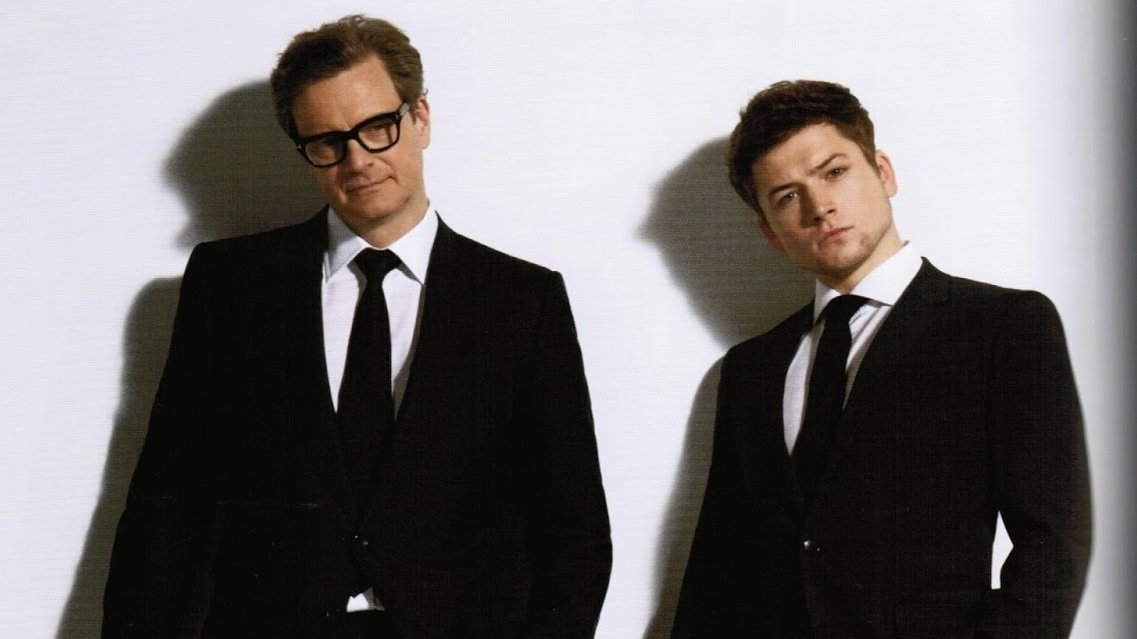 colin firth taron egerton kingsman 2 the golden circle
