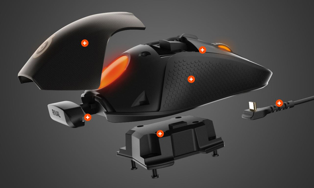 SteelSeries-Rival-700-Parts