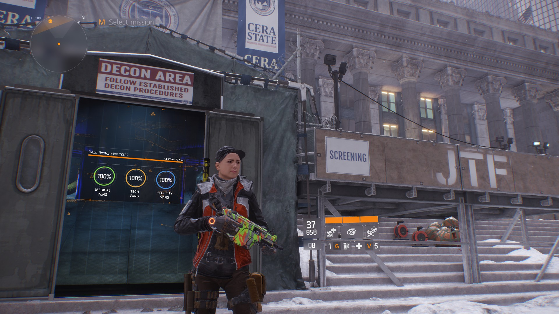 Tom Clancy's The Division Post Office