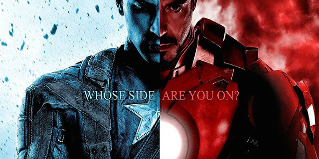 Cap v Tony - Pick A Side