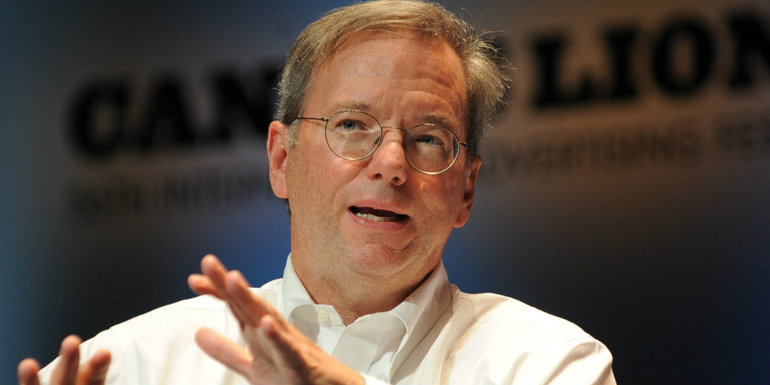 Eric Schmidt is the former CEO of Google.