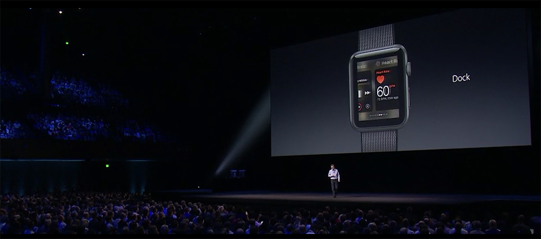 Apple Watch at WWDC 16