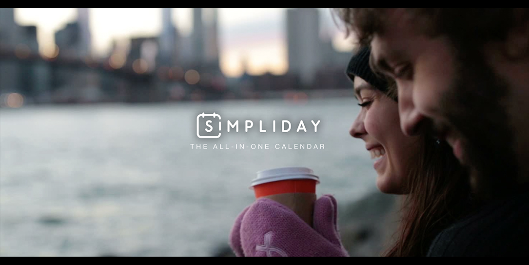 Simpliday is an iOS calendar that is visually stunning.