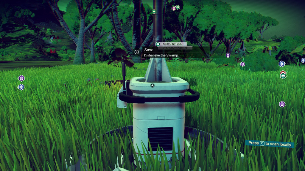 No Man's Sky Disbelieve the Swamp