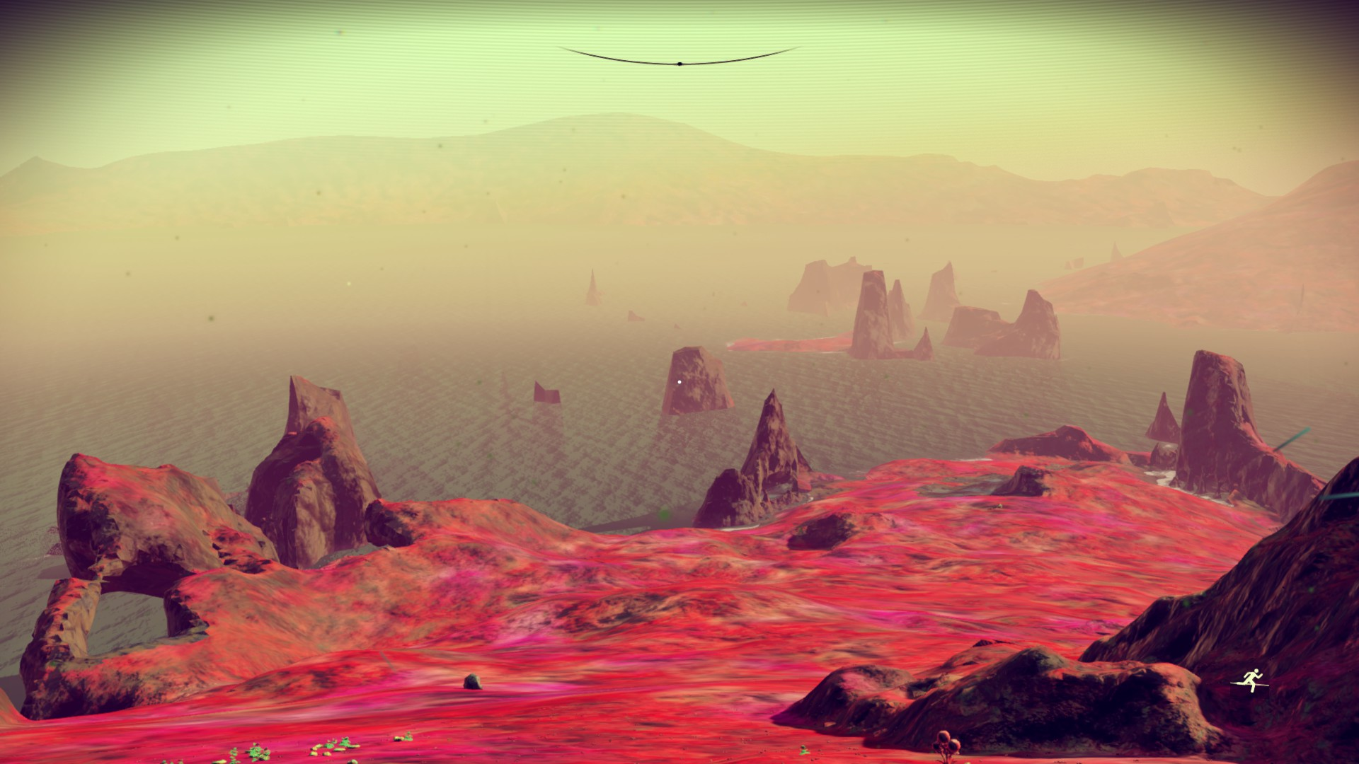 No Man's Sky view