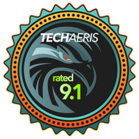 Techaeris Rated 9.1/10