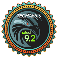Techaeris Rated 9.2/10