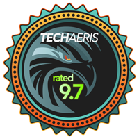 Techaeris Rated 9.7/10