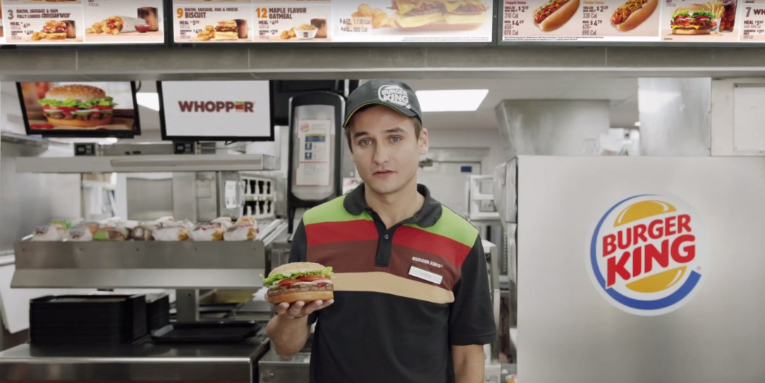 New Burger King ad tricks your 'OK Google' voice assistant on goal