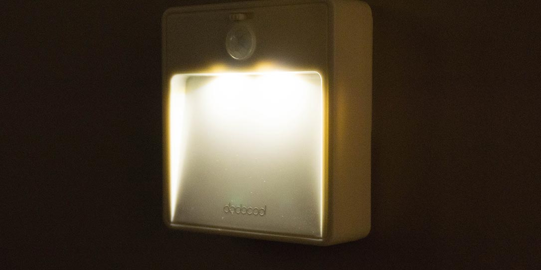 dodocool Battery-powered Motion Sensor Night Light