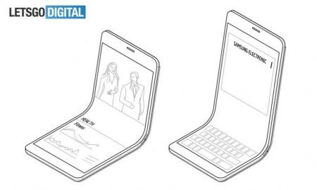 bendable Samsung phone