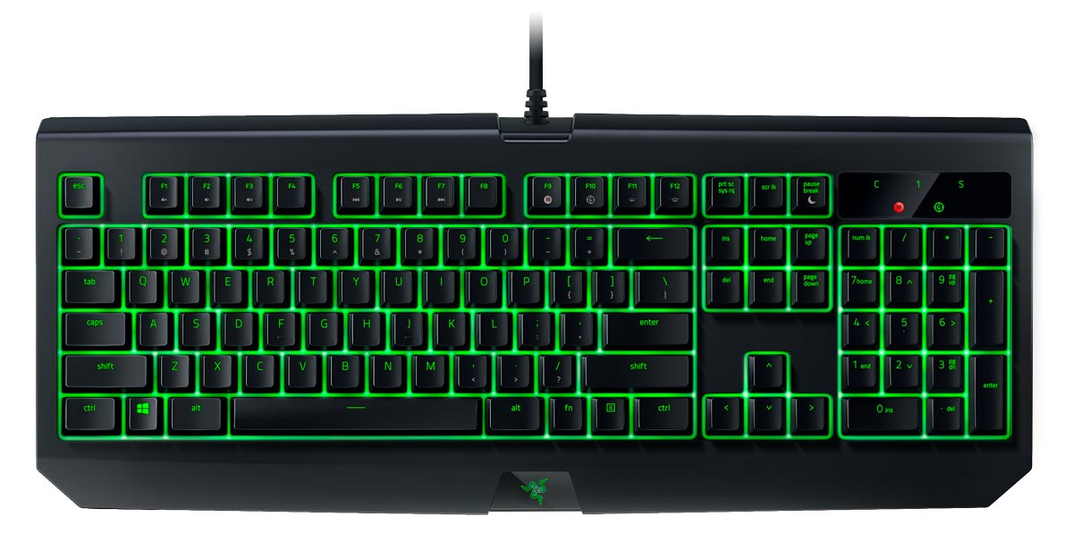 Razer-BlackWidow-Ultimate-IP54-mechanical-gaming-keyboard
