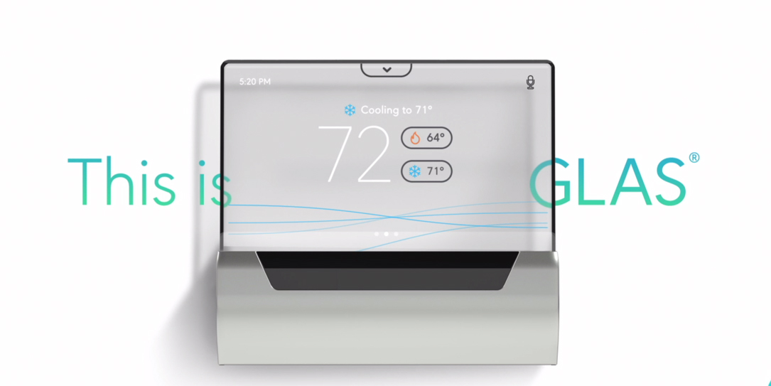 GLAS thermostat pre-orders are now available.
