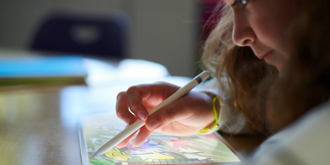 iPad with Apple Pencil support