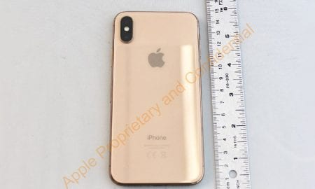gold iPhone X