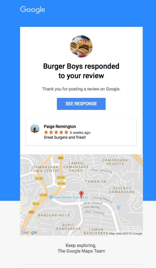 Google will now notify you
