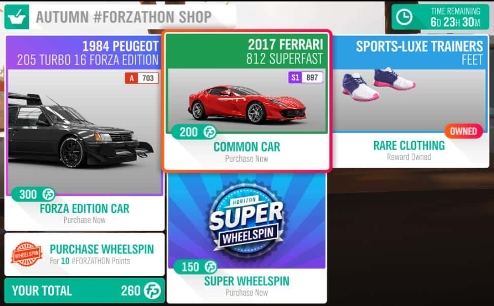 Forza-Horizon-4-Forzathon-October-4-Forzathon-Shop